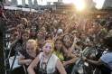 Crowd at Singapore Grand Prix Closing Concert