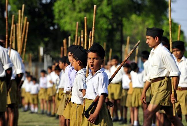 Rashtriya Swayamsevak Sangh Volunteers