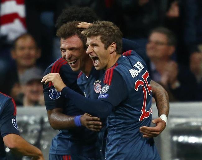 Bayern Munich Vs CSKA Moscow