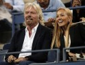 Richard Branson and Jelena Ristic
