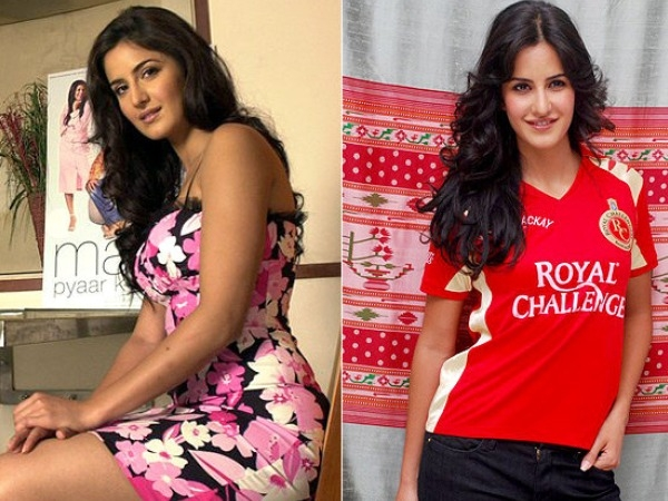 Female Celebrity Transformation from Fat-to-Fit # 1: Katrina Kaif