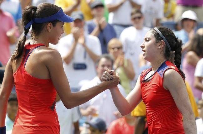 Ana Ivanovic and Christina McHale