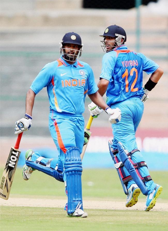 Yuvraj Singh and Yusuf Pathan