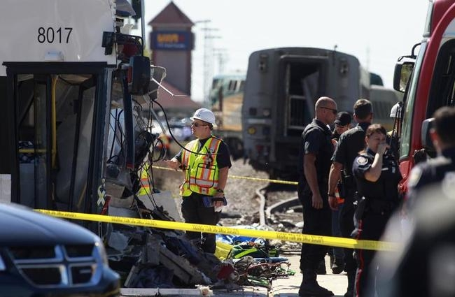 Ottawa Train-bus Collision