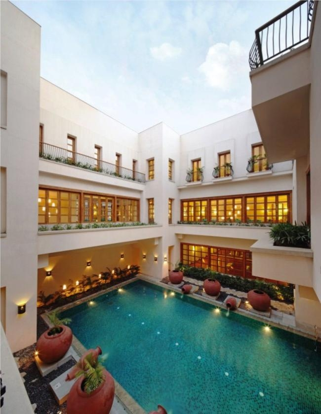 Six Senses Spa - Aerobics Pool