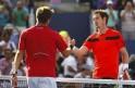 Andy Murray and Stanislas Wawrinka
