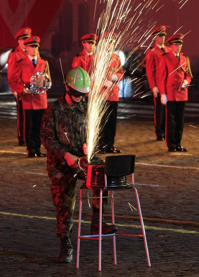 Military Music Festival in Moscow