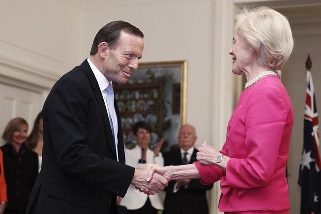 Tony Abbott, Quentin Bryce