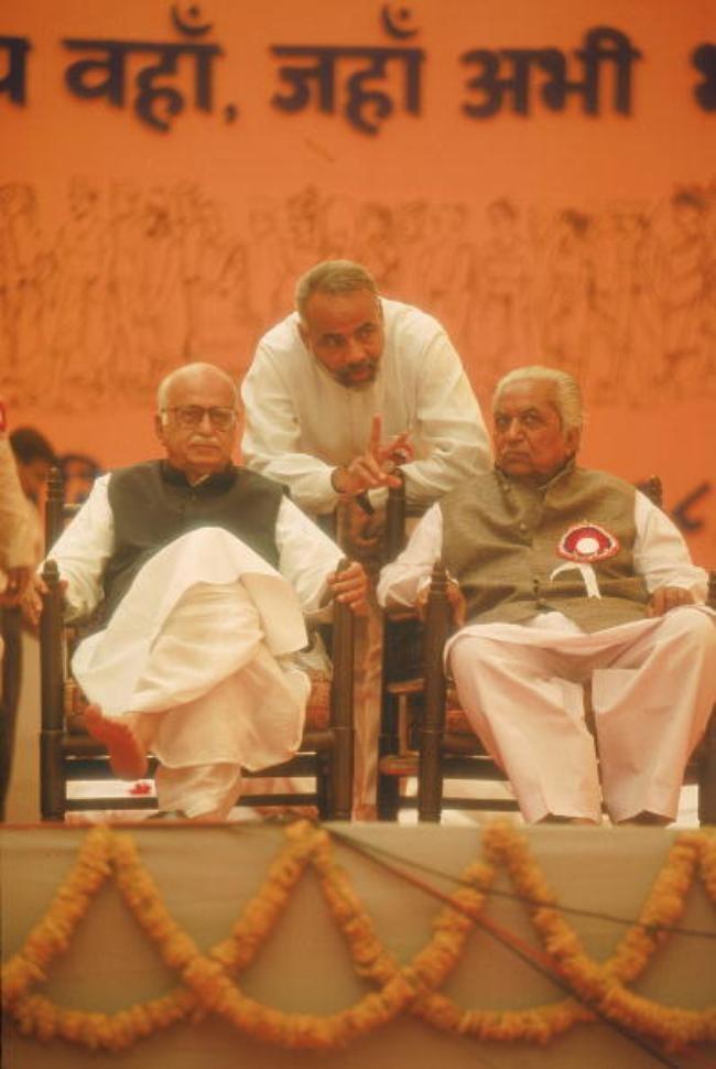 Narendra Modi, Lal Krishna Advani, Keshubhai Patel