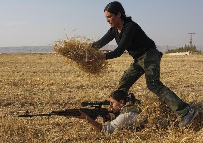 The Kurdish Women's Defense Units