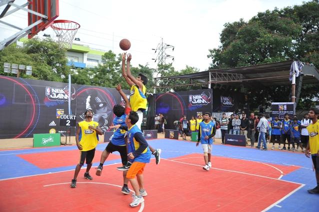 NBA Jam 2013 in Hyderabad