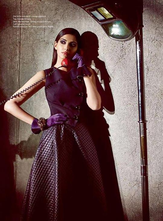 sonam kapoor s sexy photoshoot   indiatimes