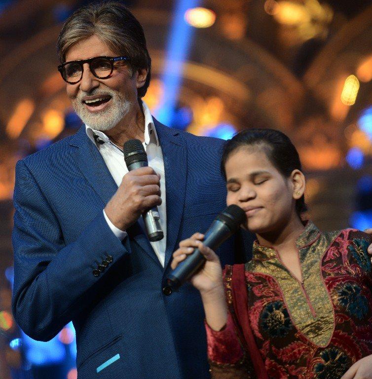 Amitabh Bachchan as guest judge