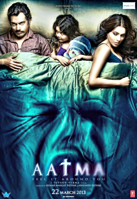 Aatma - Starring Bipasha Basu and Nawazuddin Siddiqui - this movie, which was released in March, tells of a woman trying to save her daughter from the evil and possessive ghost of her dead husband. The movie received mixed reviews - from being not particularly frightening to being thrilling, ultimately winning two stars by most reviewers.