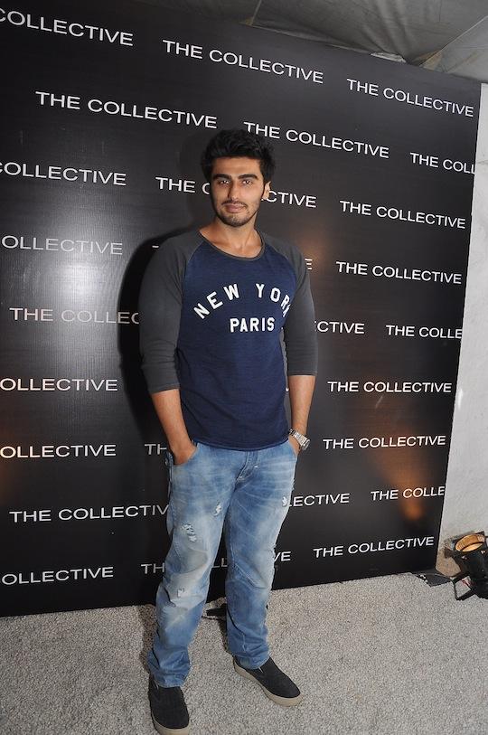 Arjun Kapoor makes a stylish entry