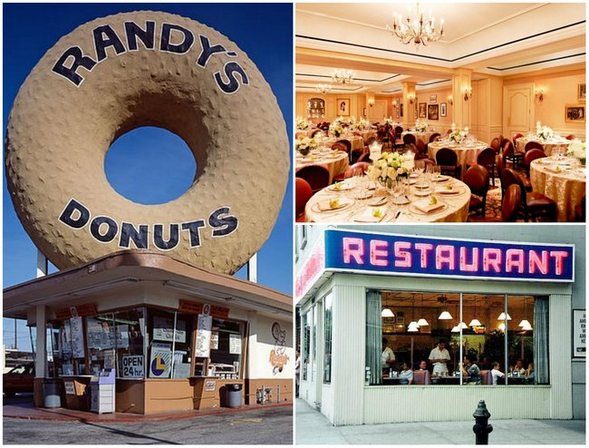 We have often seen Hollywood actors munching food and having a good time at posh or cosy restaurants. The 21 Club, The SmokeHouse Restaurant and Randy's Donuts are often depicted on the big screen.