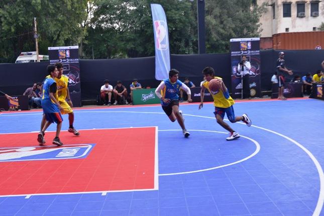 NBA Jam 2013 Face-Off in Delhi