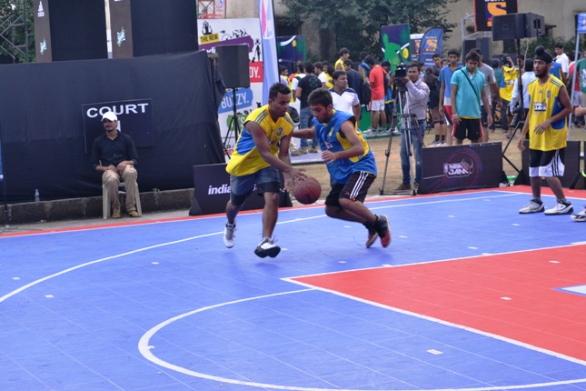 NBA Jam 2013 Face-Off in Delhi