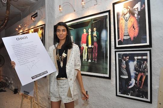 Ekta Rajani with theme of Chaos