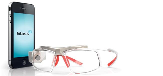 Google Glass, GlassUp