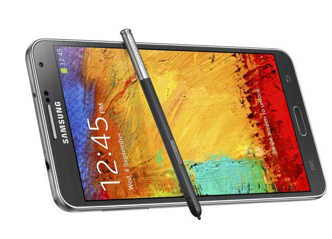 Samsung Galaxy Note 3 comes with 3 GB RAM.