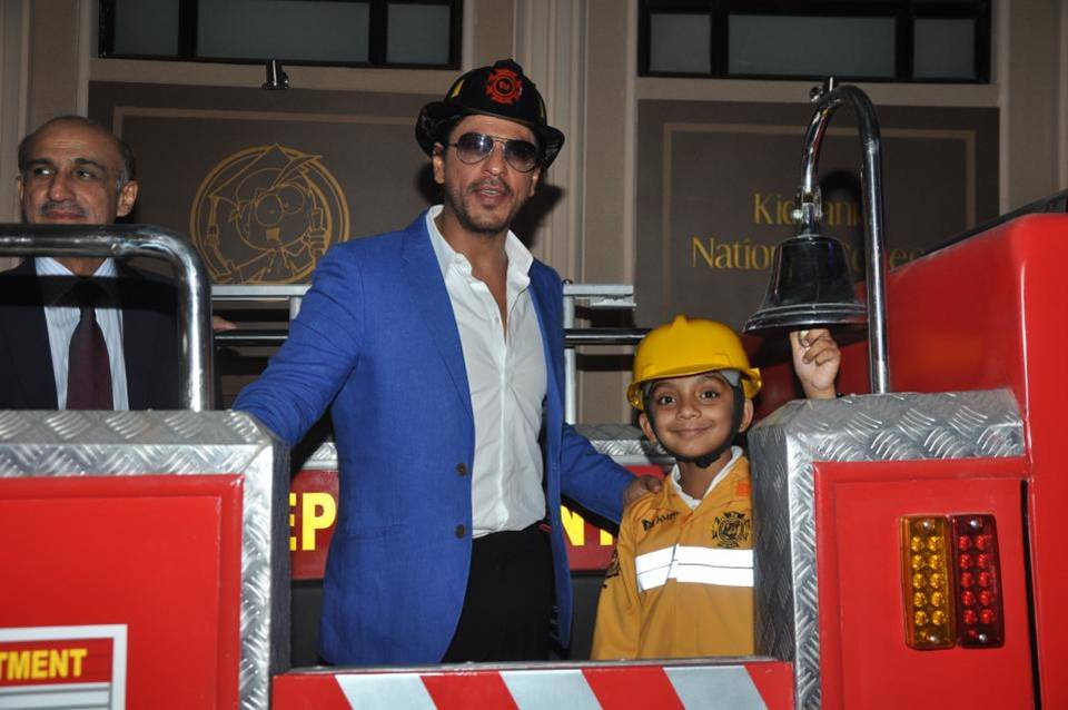 SRK visited KidZania Dubai with his children and found that his children loved the concept.