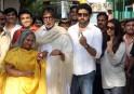 Amitabh Bachchan, Jaya Bachchan, Abhishek Bachchan, Aishwarya Rai Bachchan