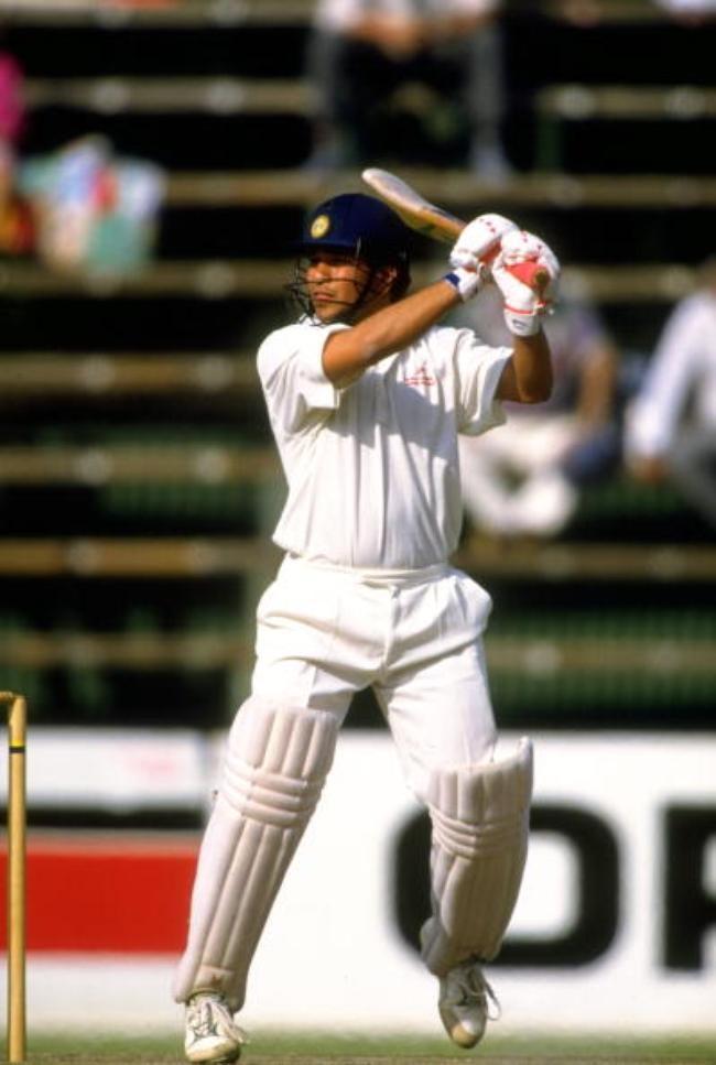 Sachin Tendulkar scores ton against South Africa