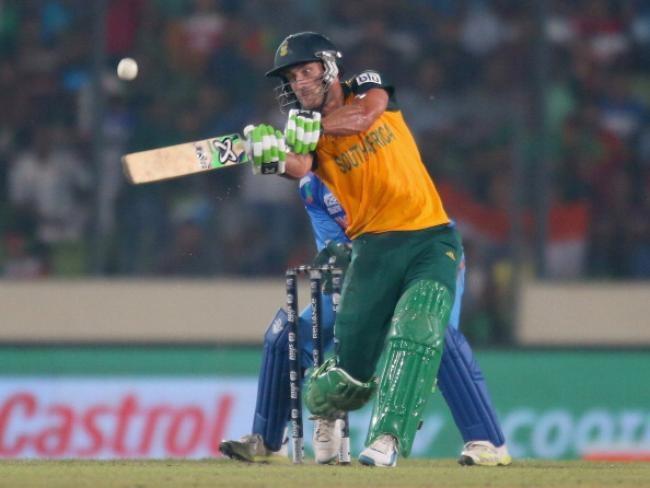 Faf du Plessis scored 58