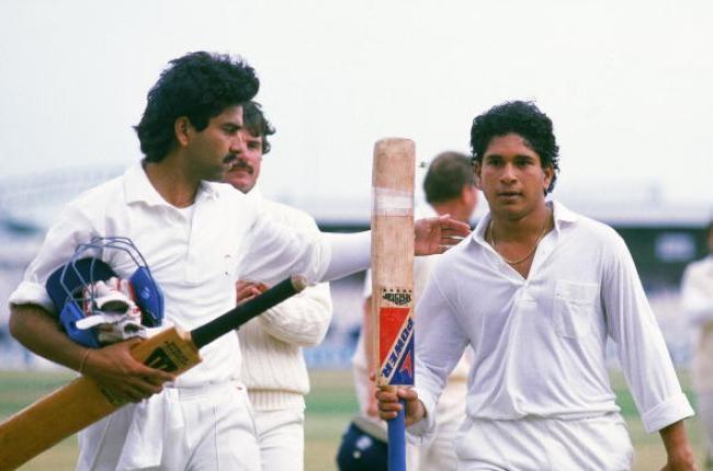 Sachin Tendulkar - First Test ton