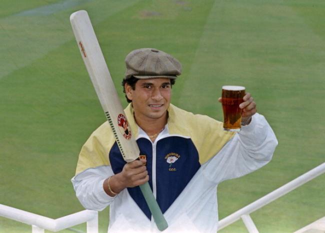 Sachin Tendulkar - First overseas professional for Yorkshire