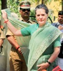 Sonia Gandhi Files Nomination from Rae Bareli: PICS