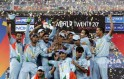 Indian cricket team players celebrate th