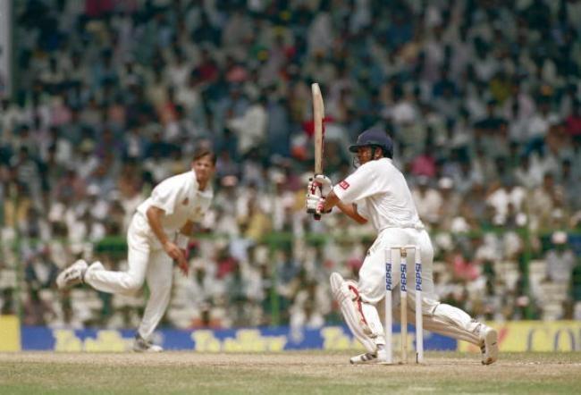 Border-Gavaskar Trophy First Test: India v Australia - Sachin Scores 155