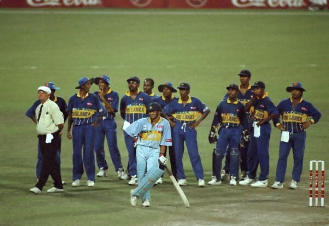 Sachin Tendulkar scored 523 runs in the 1996 Cricket World Cup