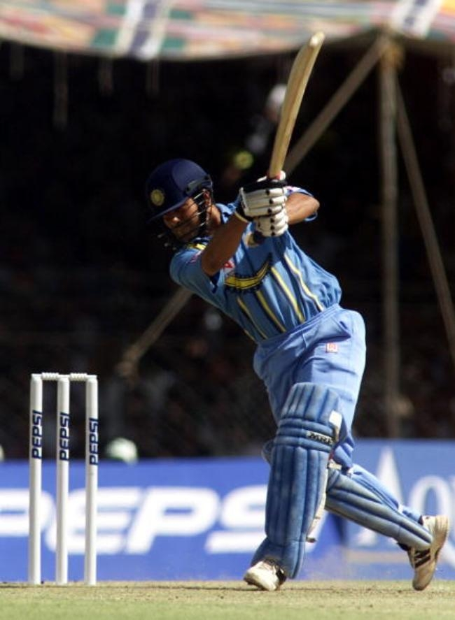 Sachin Scores 10K in ODI cricket