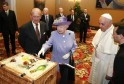 When Queen Elizabeth Met Pope Francis: PICS