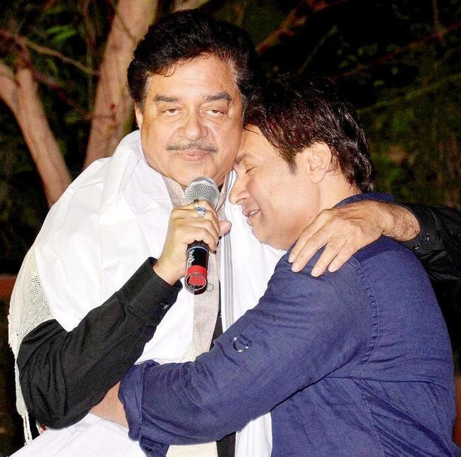 Shatrughan Sinha and Shekhar Suman