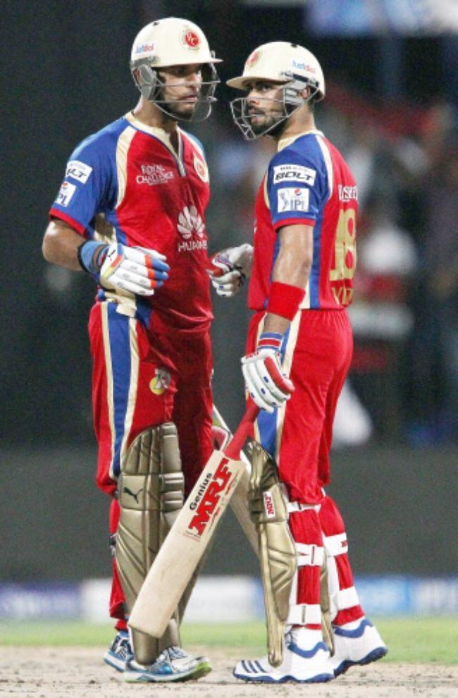 Yuvraj And Kohli