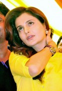 Monica Bedi campaigns
