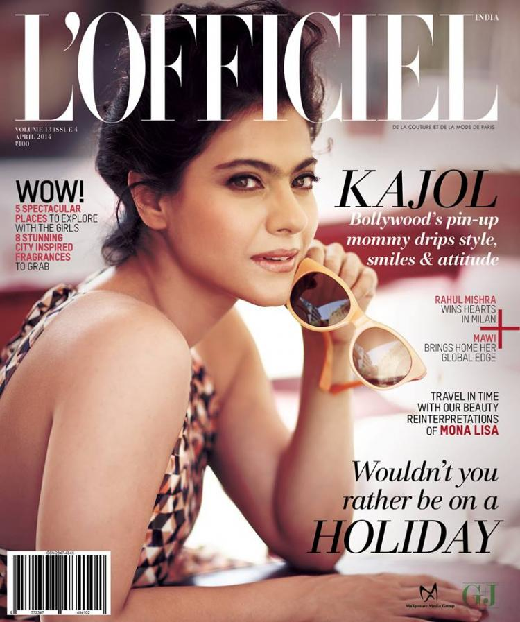 Kajol defies age and only grows more gorgeous with every passing year! Check out these fabulous pictures of the actress from a recent photoshoot for L'Officiel...