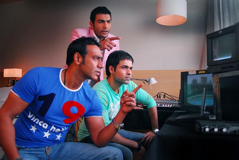 Ajay Devgn, Pravesh Rana and Emraan Hashmi