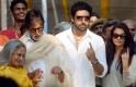 Jaya Bachchan, Amitabh Bachchan, Abhishek Bachchan, Aishwarya Rai Bachchan