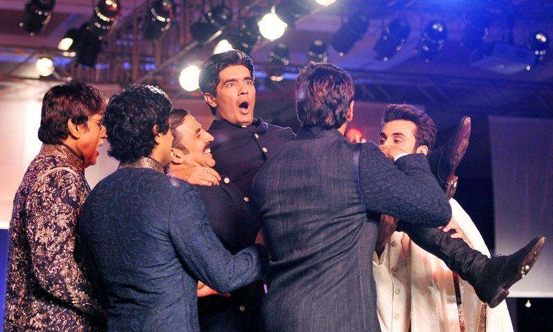 Amitabh Bachchan, Farhan Akhtar, Akshay Kumar, Ranbir Kapoor, Manish Malhotra, Sidharth Malhotra