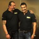 Sanjay Dutt and Ajay Devgn