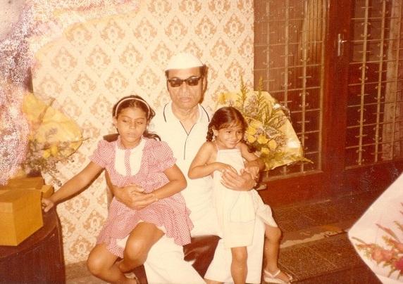 S Mukerji, Kajol and Tanishaa