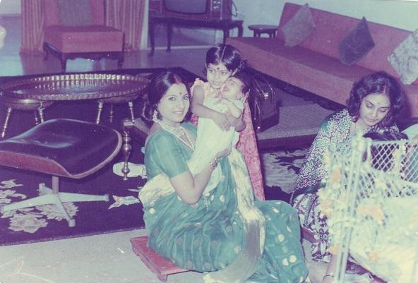 Tanuja, Kajol, Tanishaa