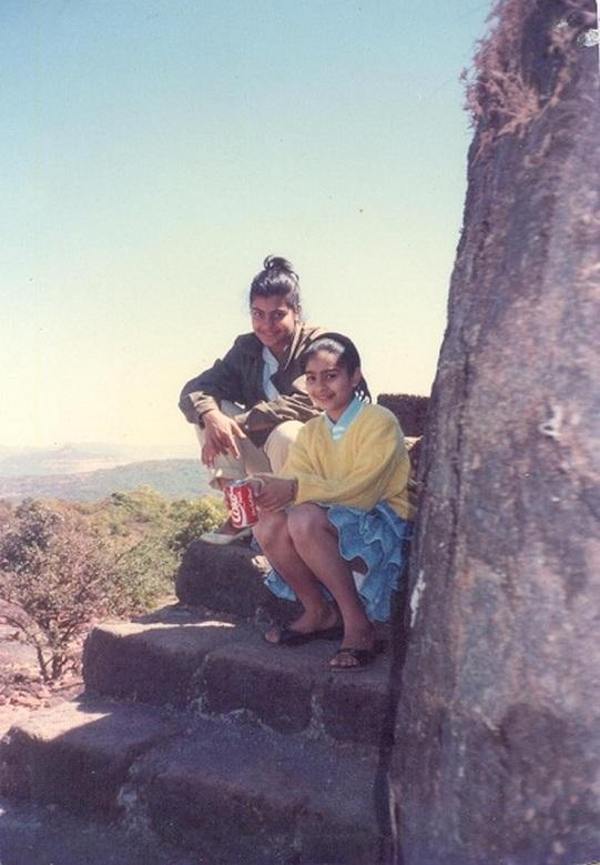 Kajol and Tanishaa