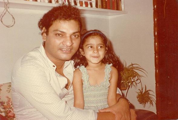 Tanishaa and Shomu Mukerji