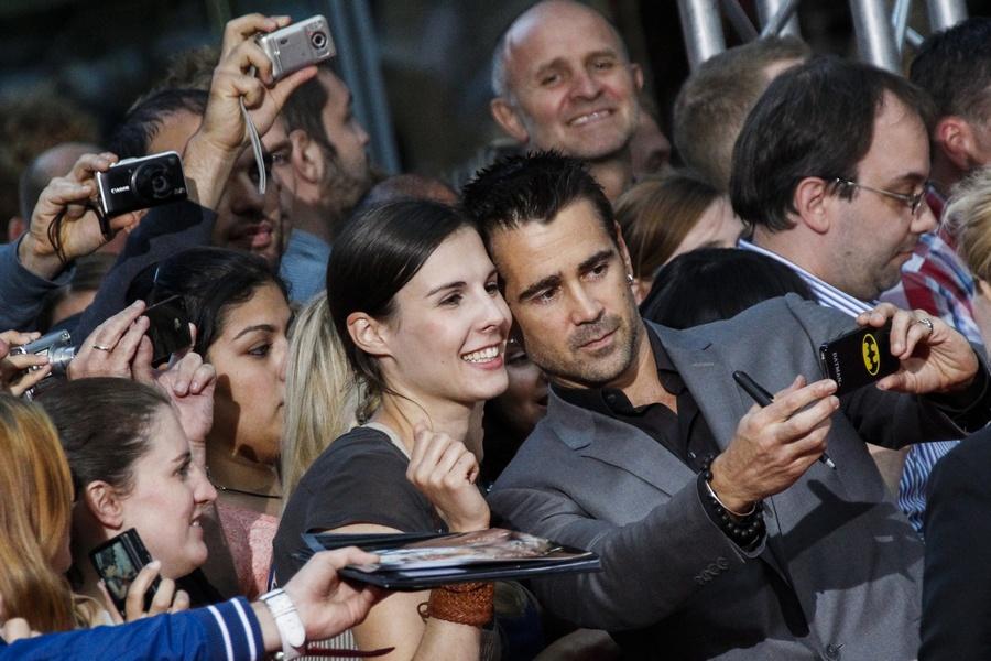 Colin Farrell selfie